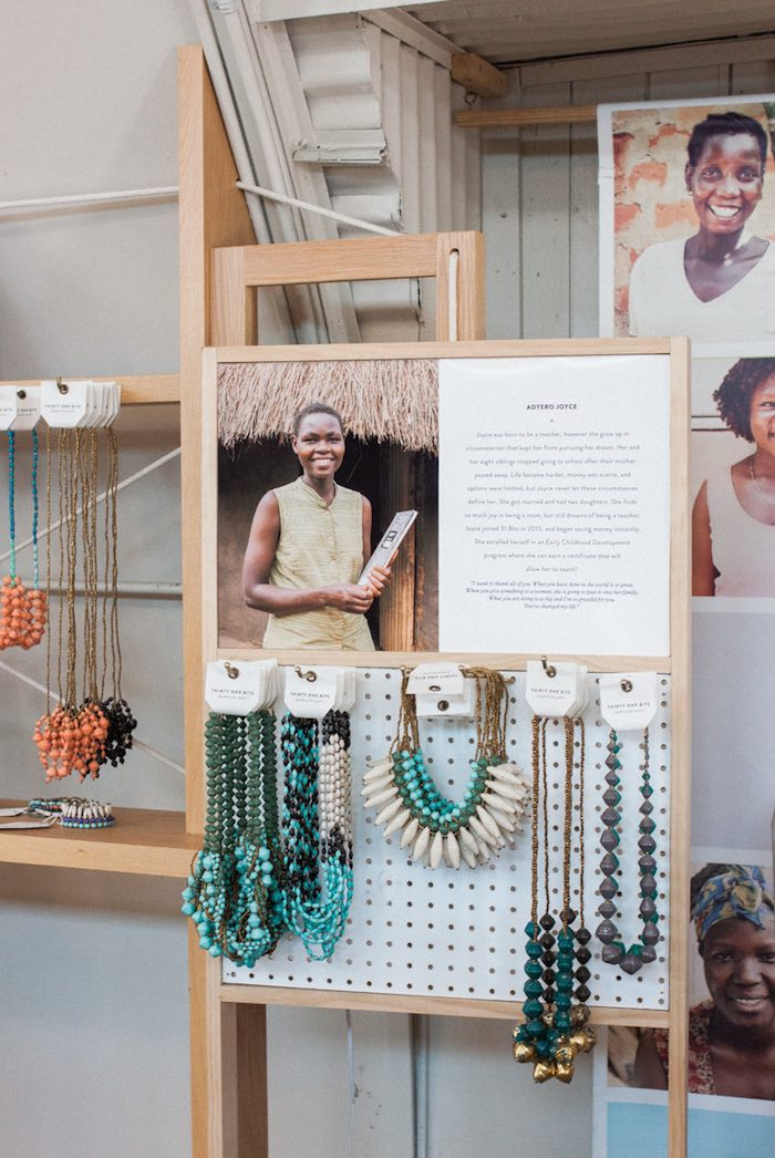 31 Bits: Teal Necklaces