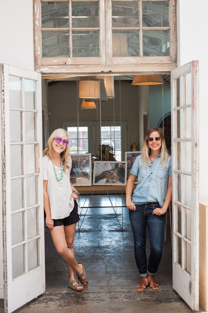 31 Bits: Director of Public Relations, Alli Talley, and Brand Director, Jessie Simonson