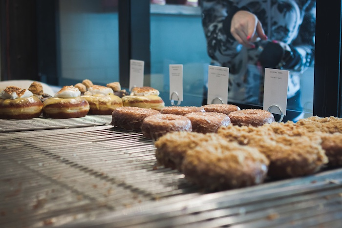 Sidecar Doughnuts and Coffee Costa Mesa California Gourmet Donuts