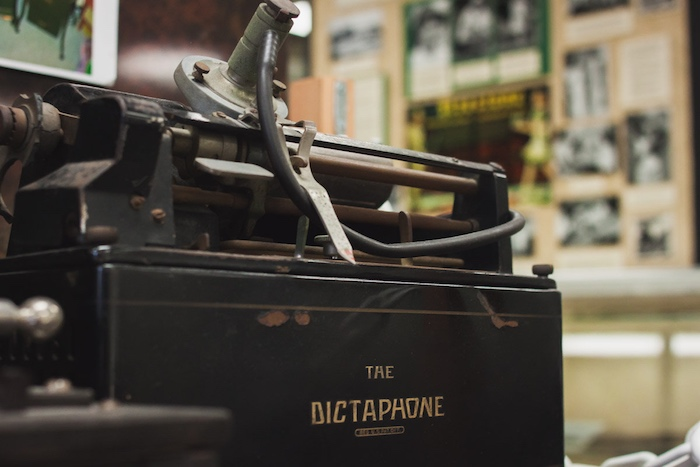 Costa Mesa Historical Society: Dictaphone