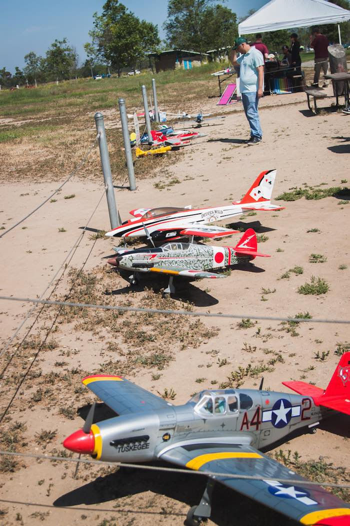 I Heart Costa Mesa; Fairview Park Model Aircraft Line Up